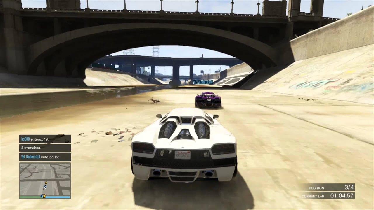 Gta V Online Racing In A Nutshell Youtube