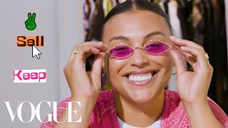 Paloma Elsesser Organizes Her Closet With Vogue's Closet Shrink | Vogue
