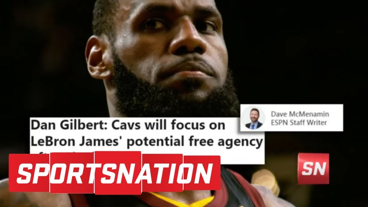 how worried should dan gilbert and the cavaliers be about re-signing