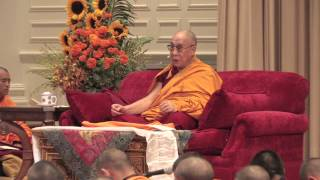 The Dalai Lama at Emory University (2013): Buddhist Teaching (Part 1 of 2)