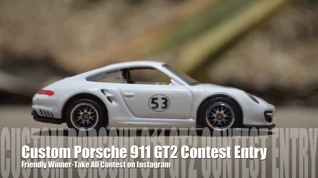 hot wheels porsche gt2 instagram custom challenge youtube. Black Bedroom Furniture Sets. Home Design Ideas