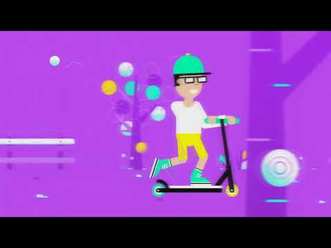 Scooter Boy Animation | Motion Graphic