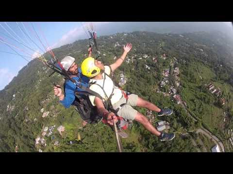 Paragliding at Kalimpong on Delo Hill_October 2015