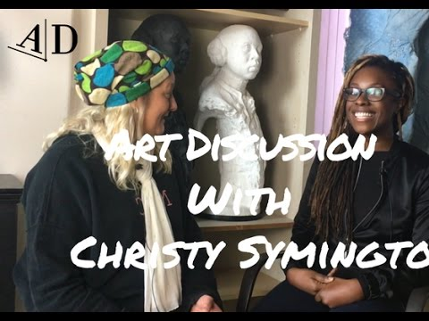 Christy Symington in Conversation with Adelaide Damoah: Art Discussion