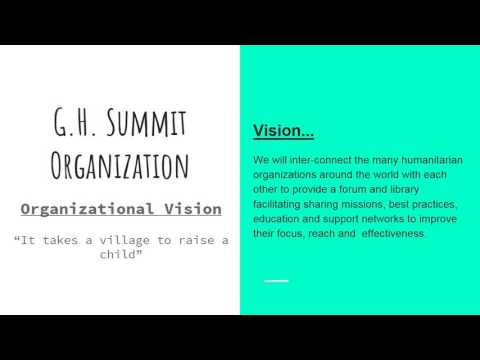 Global Humanitarian Summit Organization