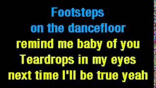 Karaoke Teardrops  .Womack & Womack