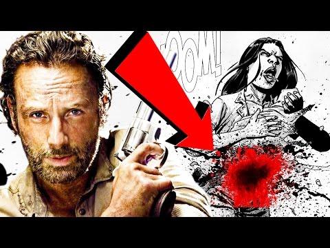 Terribles Momentos que Walking Dead Cambió de Los Comics y No Notaste