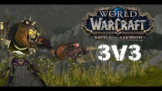 Wow   BFA Destruction warlock 3v3 (Beta-8.0.1)