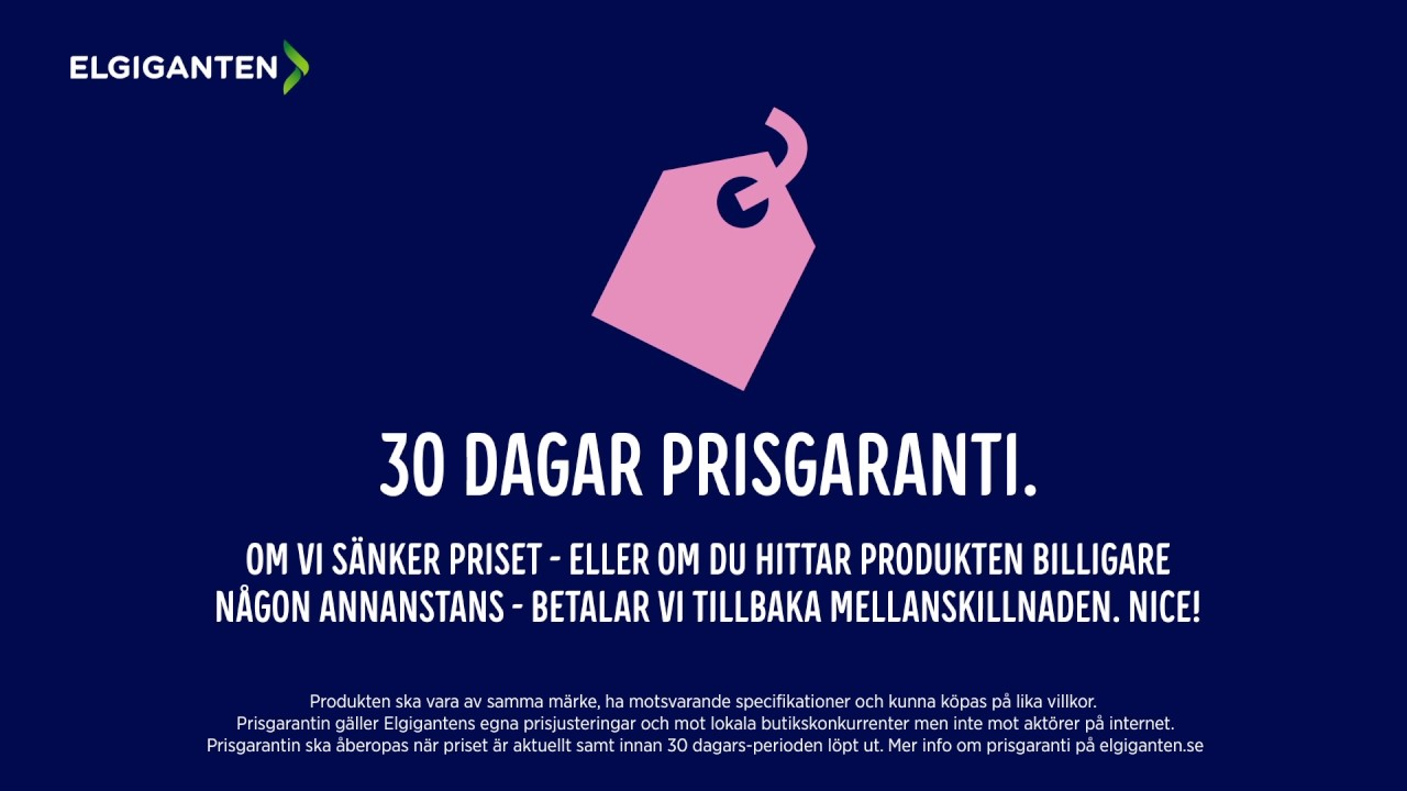 På Elgiganten får du prisgaranti i 30 dagar! - YouTube 5b78bff7c8223