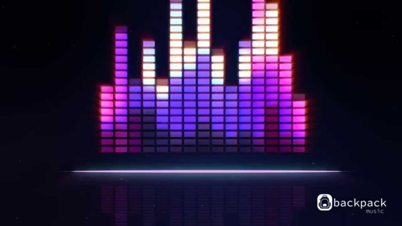 cool background music with graphics equalizer youtube