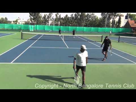 North Bangalore Tennis Club 1st Semifinal Match