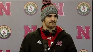 Nebraska's Jordan Westerkamp's post-game press conference
