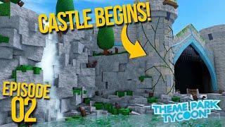 Building My DREAM CASTLE!   Theme Park Tycoon 2   Episode 2