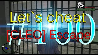 Let`s cheat Advance-rp (GTA SAMP) #100 - CLEO Escape (Как выбраться из тюрьмы)