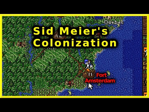 Sid Meier's Colonization (Classic) Let's Play #07 - Fort Amsterdam | 2021 |
