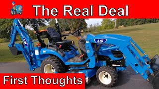 Video LS MT125 Tractor vs John Deere 1025R vs Massey Ferguson GC1705 download MP3, 3GP, MP4, WEBM, AVI, FLV Juli 2018