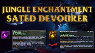 New Jungle Enchantment - Sated Devourer