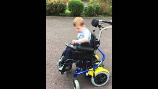 Connor Ventris-Field Electric Wheelchair Try No 1