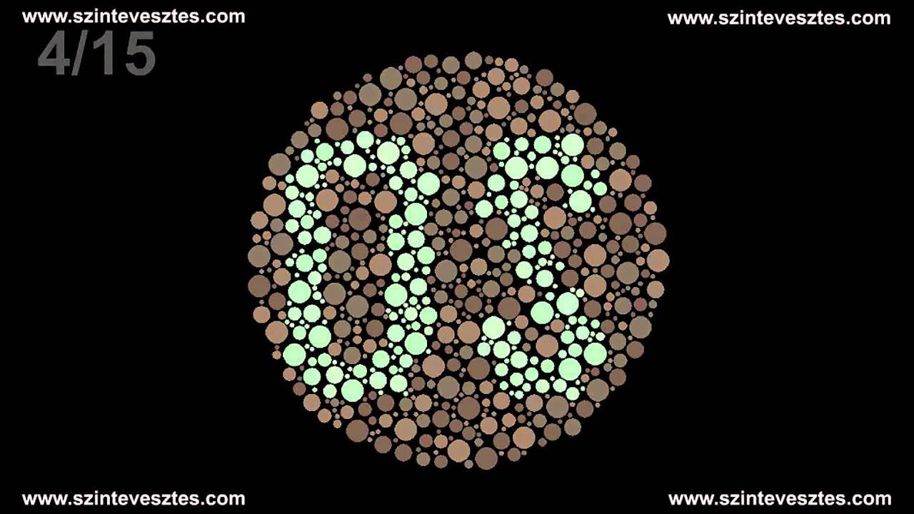 b9e8268e165 Színtévesztés teszt - www.szintevesztes.com - YouTube