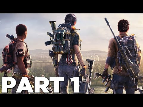 THE DIVISION 2 Walkthrough Gameplay Part 1 – INTRO – Campaign Mission 1 (PS4 Pro)
