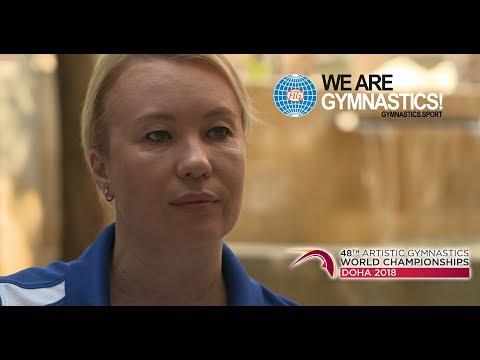 Svetlana Boguinskaia - 2018 Artistic Gymnastics World Championships Ambassador - We are Gymnastics !