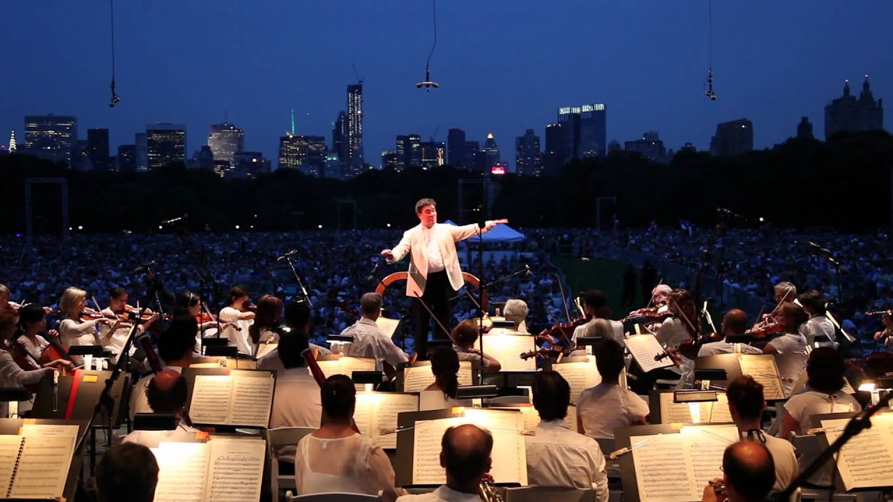 Tchaikovsky's Fourth in Central Park, 071312