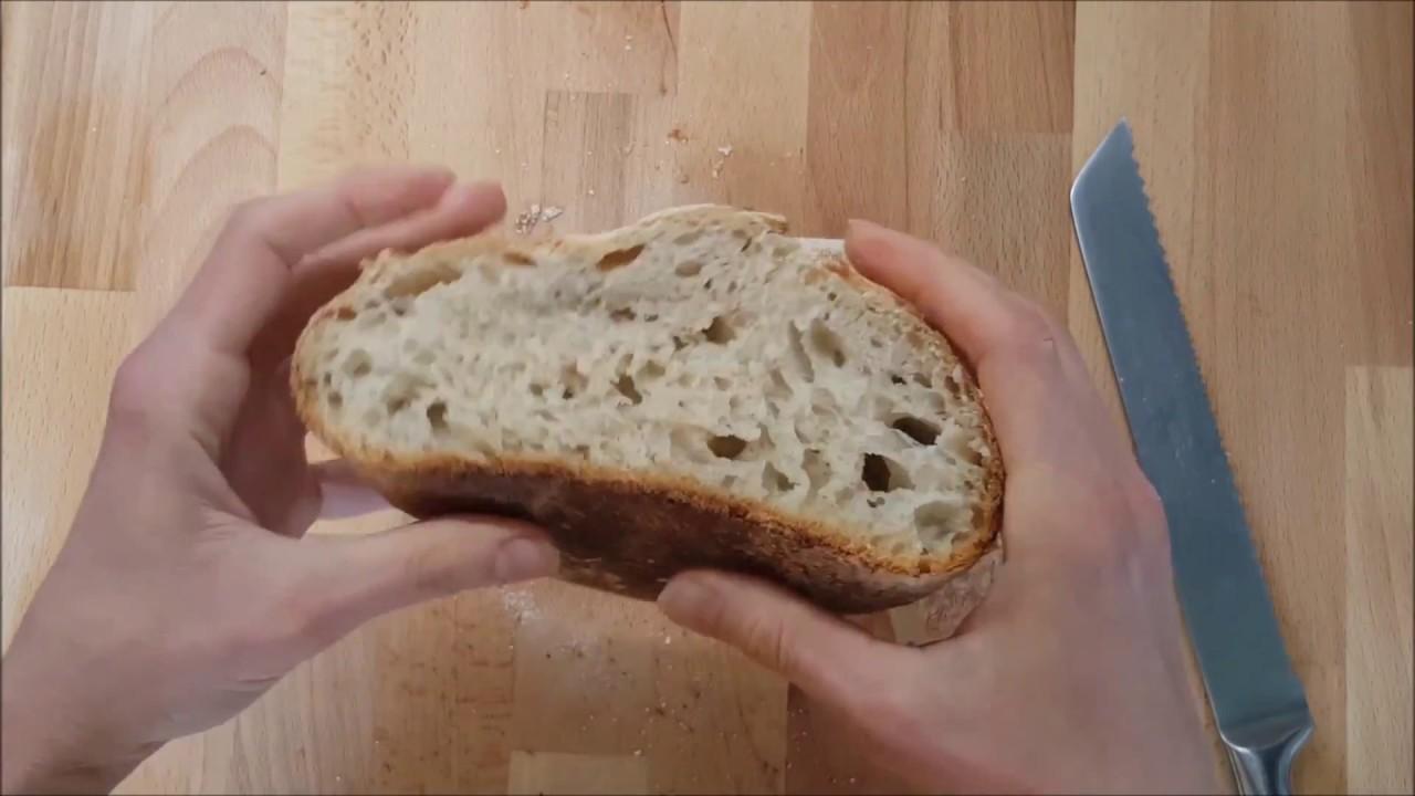 Как начать печь хлеб на закваске - 5 простых шагов - YouTube
