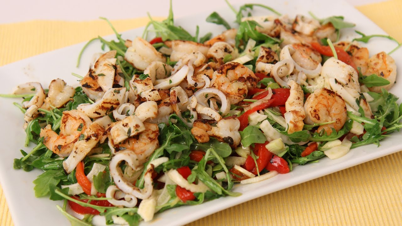 Calamari Salad Recipes — Dishmaps