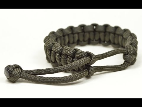 Make a Mad Max Style Paracord Survival Bracelet THE ORIGINAL
