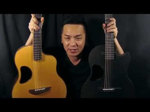 Mcpherson CARBON FIBER SABLE VS WOODED 3.5 Guitar review in singapore