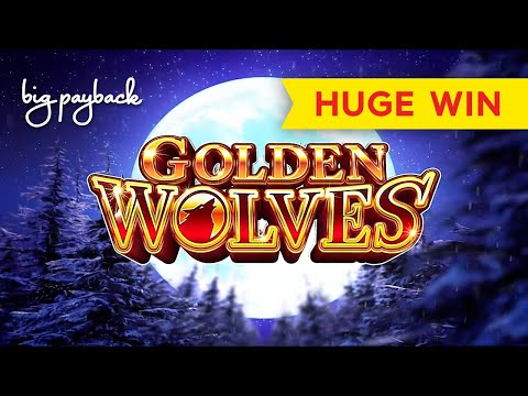HUGE WIN, AWESOME! Golden Wolves Slot - SHORT & VERY SWEET! - 동영상