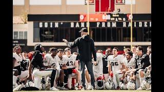 Texas Tech Football : 연습 번호 13 미디어 가용성 | 2021 년