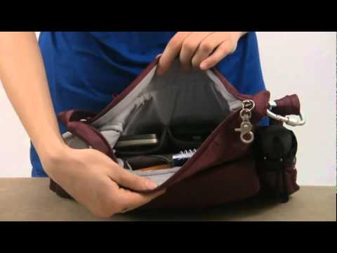 60ae9cfd988 Travelon Carry-Safe Anti-Theft Messenger Bag   www.bagworld.com.au ...