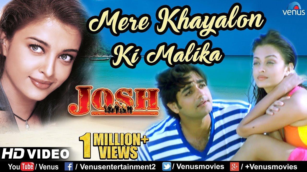 Download Mere Khayalon Ki Malika- HD VIDEO | Aishwarya Rai & Chandrachur Singh | Josh | 90's Romantic Song