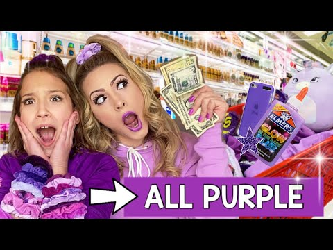 Download NO BUDGET *PURPLE ONLY* SHOPPING SPREE! 💜 (Must See)