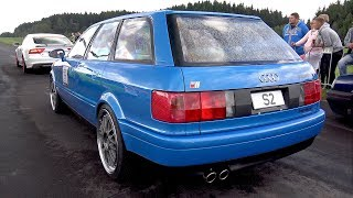 800HP Audi S2 Avant - PURE TURBO SOUNDS!!