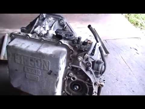 Фото к видео: 2001 3.0 Taurus Transmission AX4N taking it apart.