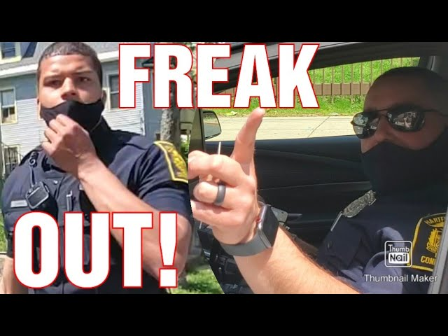 MUST SEE! COP FREAK OUTS! 1ST AMENDMENT AUDIT FAIL!
