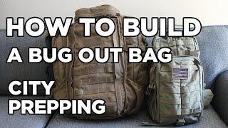 How to build a Bug out Bag (aka B.O.B.)