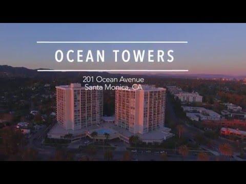 Ocean Towers Santa Monica | 201 Ocean Avenue | Unit 1709B |  Luxury High Rise Building