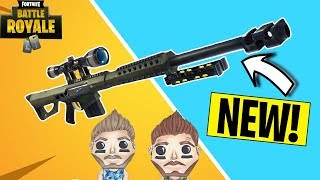 FORTNITE HEAVY SNIPER! *NEW* UPDATE!