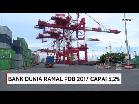Bank Dunia Ramal PDB Indonesia 2017 capai 5,2%
