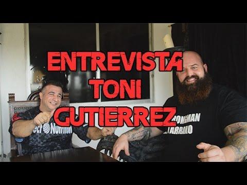 Entrevista Toni Gutiérrez