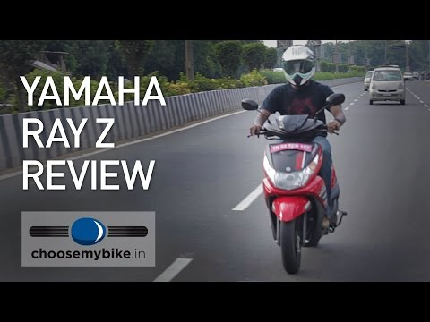 Yamaha Ray Z Test Review
