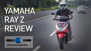 Yamaha Ray Z : ChooseMyBike.in Review