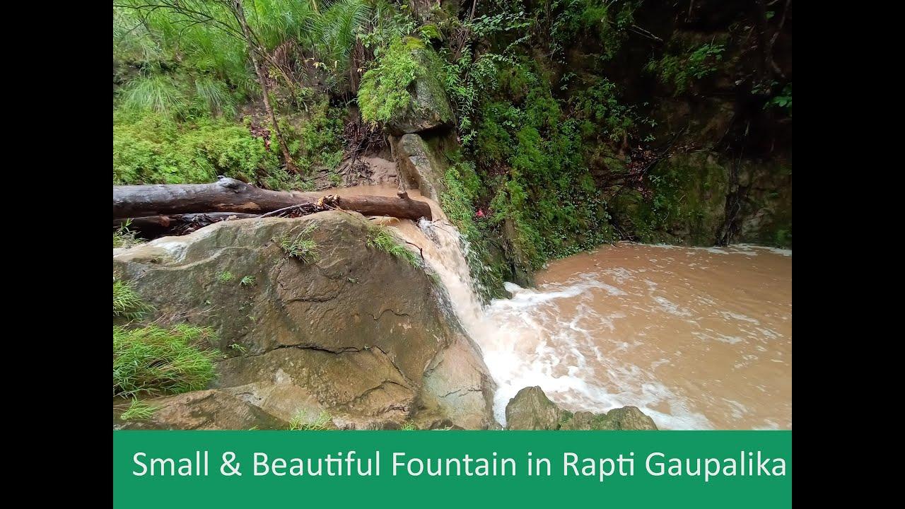 Random Vlog for searching small fountain in Rapti sonari Gaupalika Watch video till end | RGB NIHAL