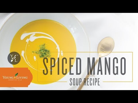 spiced-mango-soup-with-essential-oils-|-young-living-essential-oils