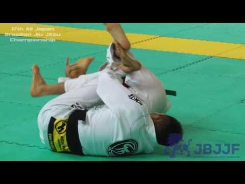 Koji Shibamoto 1st - 17th All Japan Brazilian Jiu Jitsu Championship
