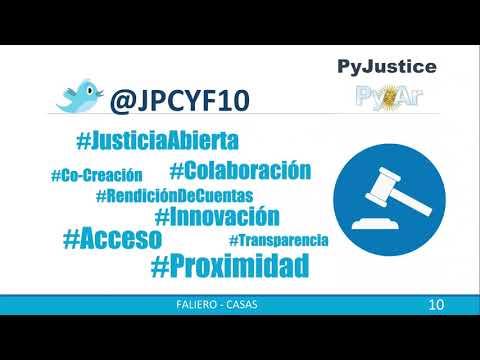 Image from PyJustice: aplicaciones de Python en el área legal. Un lenguaje al servicio de la justicia.
