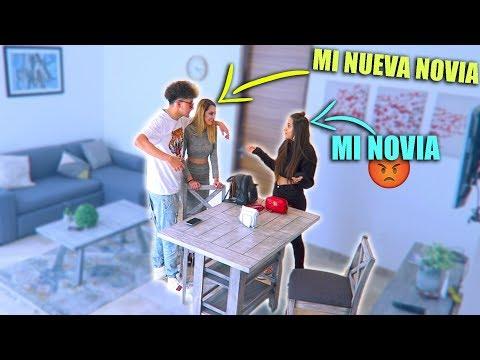 Le presento a mi NOVIA mi NUEVA NOVIA! | BROMA A MI NOVIA
